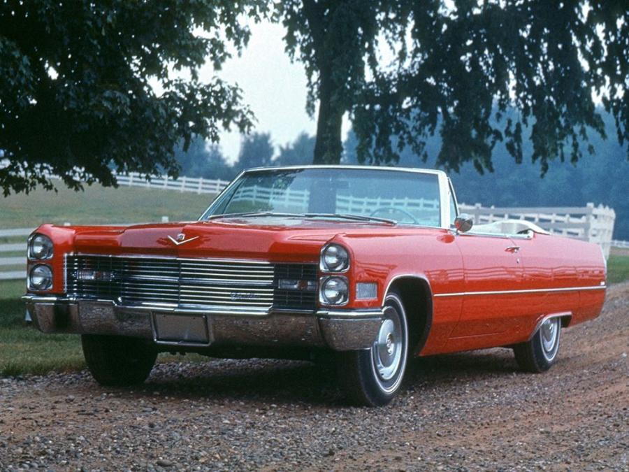 1966 Cadillac DeVille 2-Door Convertible
